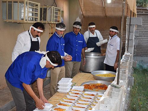 گزارش تصویری: مراسم افطار (#9)