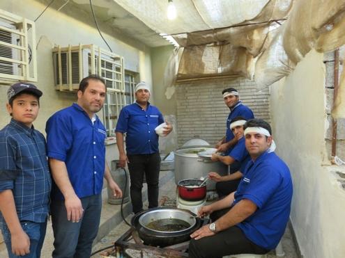 گزارش تصویری: مراسم افطار